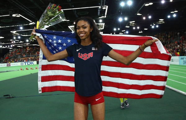 Vashti Cunningham - youngest ever women's winner at the world indoor championships (+VIDEO)